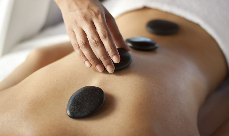 Target Areas For Hot Stone Massage